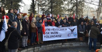 WosClub ile ATA'nın Ankaraya gelişi DİKMEN Sırtlarından ANITKABİRe 27 Aralık 20152