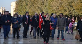 WosClub ile ATA'nın Ankaraya gelişi DİKMEN Sırtlarından ANITKABİRe 27 Aralık 20153