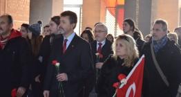 WosClub ile ATA'nın Ankaraya gelişi DİKMEN Sırtlarından ANITKABİRe 27 Aralık 20155