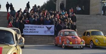 WosClub ile ATA'nın Ankaraya gelişi DİKMEN Sırtlarından ANITKABİRe 27 Aralık 20159