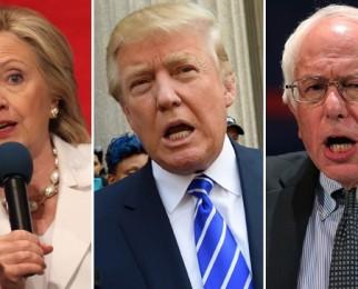 """Trump, Clinton ve El Altına Sürülen Bernie Sanders: """"Bu Her şeyi Değiştirir"""""""