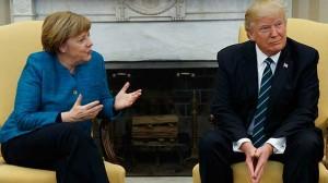 Merkel- Trump
