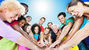 A large group of multi generation smiling people with stretched arms. They are standing in a circle with their hands joined in the middle.   [url=http://www.istockphoto.com/search/lightbox/9786738][img]http://dl.dropbox.com/u/40117171/group.jpg[/img][/url]  [url=http://www.istockphoto.com/search/lightbox/9786750][img]http://dl.dropbox.com/u/40117171/summer.jpg[/img][/url]