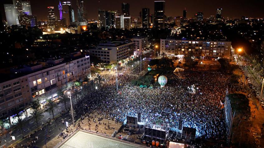 israil-iki-devlet-gösteri