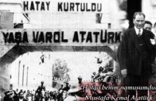 HATAY ANAVATANA KATILDI (30 Haziran 1939)