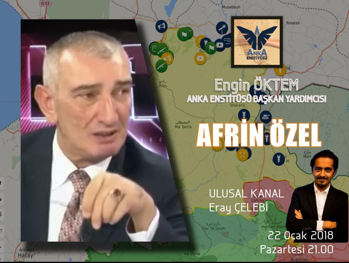 """""""AFRİN ÖZEL"""" Ulusal Kanal Saat 21.00"""