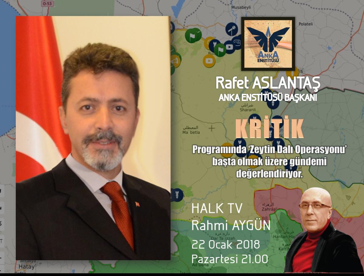 """KRİTİK"" Halk TV Saat: 21.00"