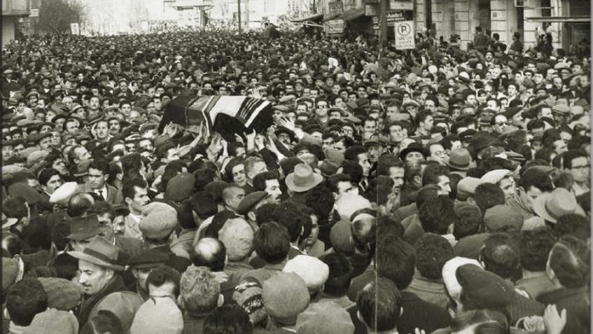 Demirci Mehmet Efe Cenazesi