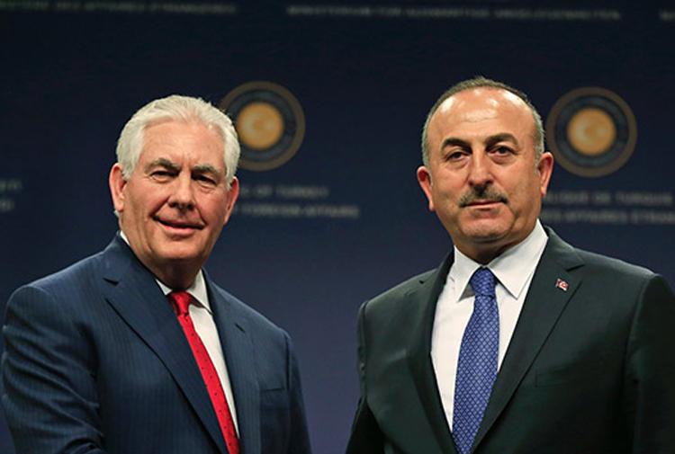 tillerson-çavuşoğlu