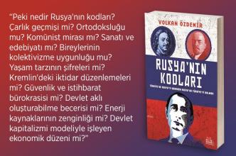 SAYIN DR. VOLKAN ÖZDEMİR'İN YENİ KİTABI: RUSYA'NIN KODLARI