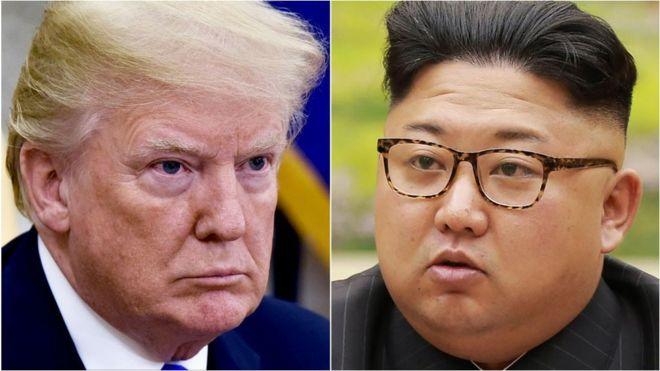 Kim Jong, Trump