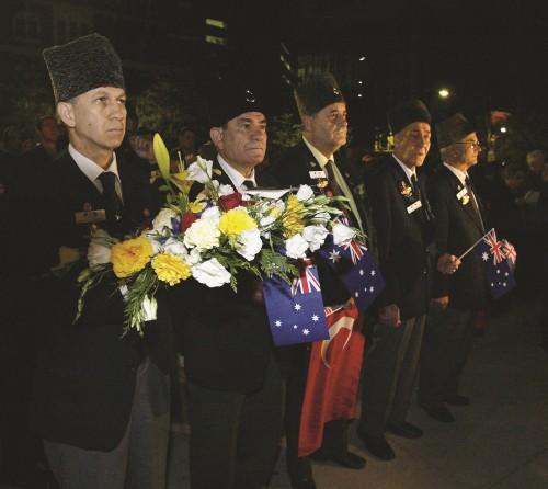 Türk Gazileri Törende