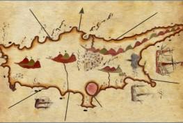 Piri-Reis-Kibris-Harita