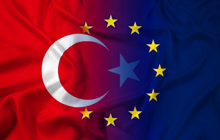 EU and TR flags