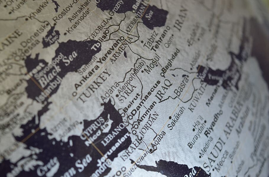 syria-middle-east-map-globe